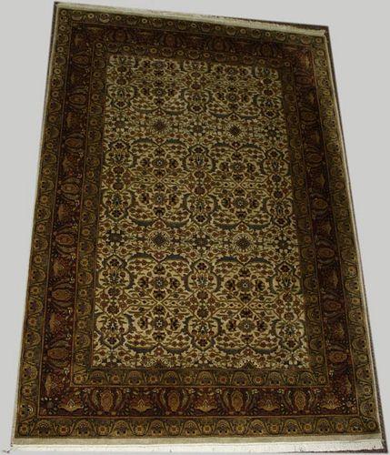 "Contemporary Persian area rug, 4' 1"" x 6' 1"""