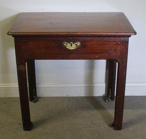 Antique Mahogany Writing Desk.
