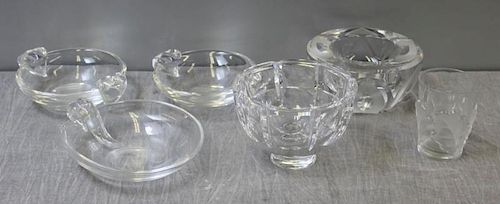 Large Lot of Signed Glass.