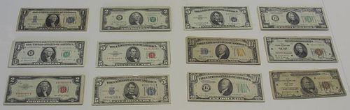 Grouping of Paper Money.