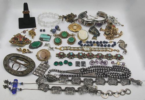 JEWELRY. Assorted Grouping of Vintage and Antique