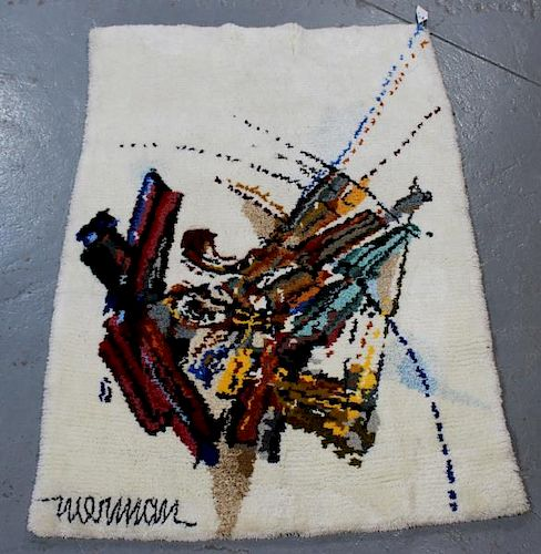 NIERMAN, Leonardo. Modern Abstract Tapestry.