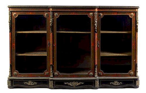 A Napoleon Iii Gilt Bronze Mounted Boulle Marquetry Meuble D