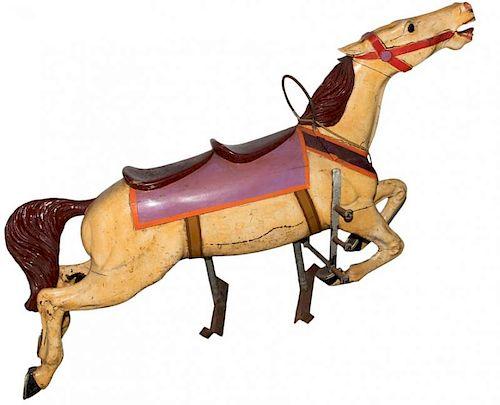 Prior & Church Cedar Downs Derby Racer Two-Seater Horse.