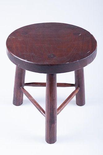 David Smith Co Tropical Wood Stool, David Smith Furniture Seattle