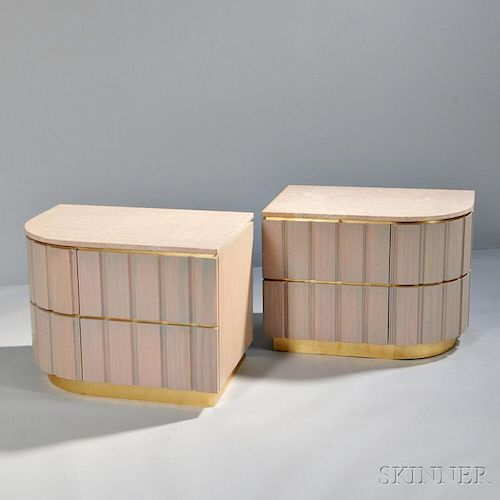 Pair of Contemporary Nightstands