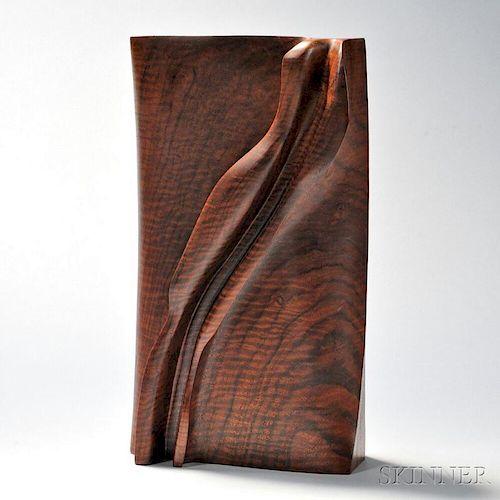 Holly Tornheim (b. 1948) Wooden Sculpture