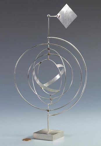 George Rickey Kinetic Sculpture, Space Churn
