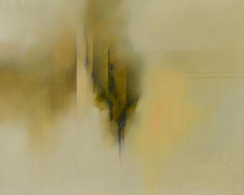 Fernando Zobel Abstract Oil on Canvas