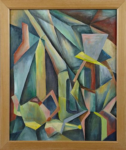 """William Stiles (New Orleans), """"Cubist Abstract,"""" 2"""