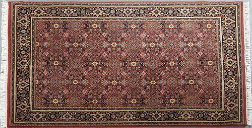 Rajasthan Bijar Carpet, 5' x 7'.
