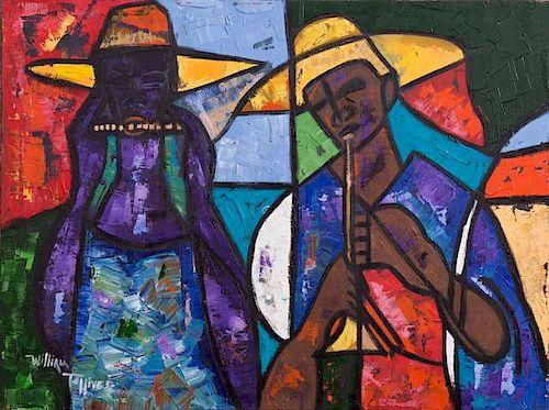 """William Tolliver (1951-2000, Louisiana), """"African"""