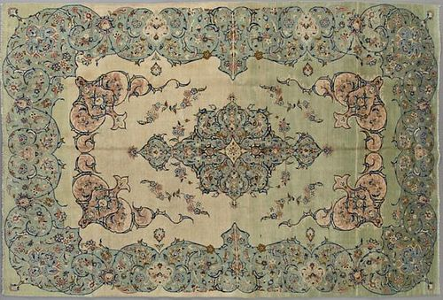 Kashan Carpet, 8' x 11' 5.