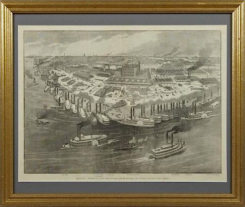 """""""Louisiana - View of the City New Orleans, seen fr"""