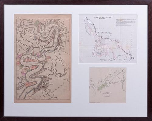 """""""Map of the Mississippi from Haine's Bluff to Belo"""