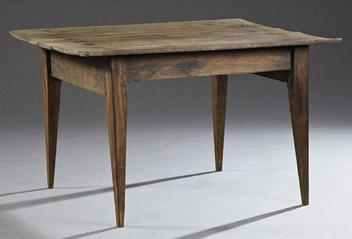 Louisiana Primitive Cypress Table, 19th c., the th