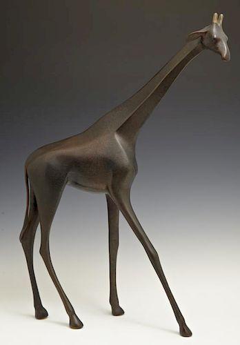 """Loet Vanderveen (1921-2015, Dutch), """"Standing Gira"""
