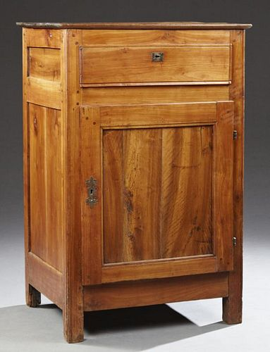 Louis Philippe Carved Cherry Confiturier, 19th c.,