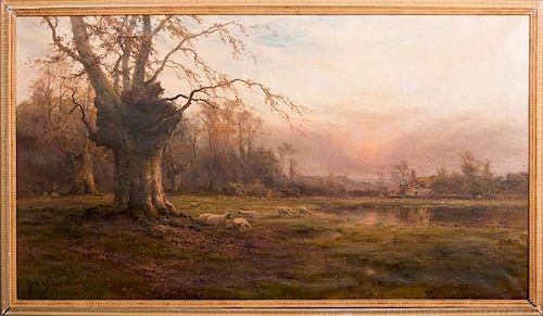 "Alfred de Breanski, Sr. (1852-1928, British),ÿ""Dep"