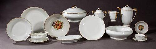 Seventy-Nine Piece Set of Limoges Dinnerware, 20th
