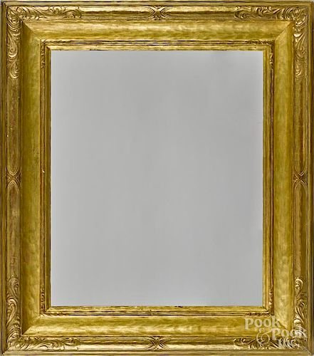Walfred Thulin, carved and gilded frame, signed on verso, outside - 41 1/2'' x 36 1/4''