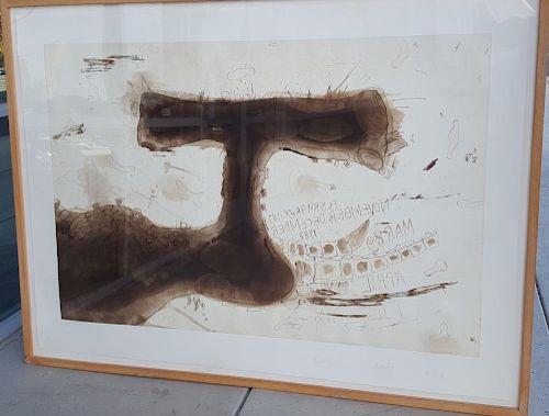 "Carroll Dunham large print ""Untitled"""
