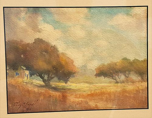 Early California Landscape 1912