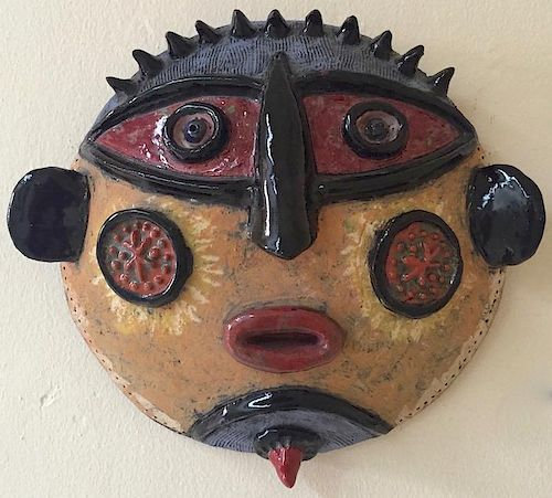 Louis Mendez, Aborigine Mask