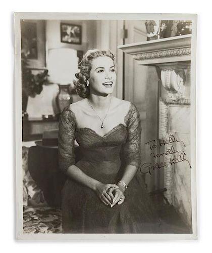 A Grace Kelly Autographed Photograph