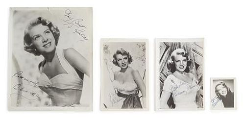 A Collection of Rosemary Clooney Autographs