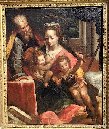 Italian School Old Master Baroque