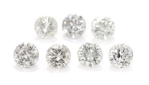 A Collection of Loose Diamond Melee,