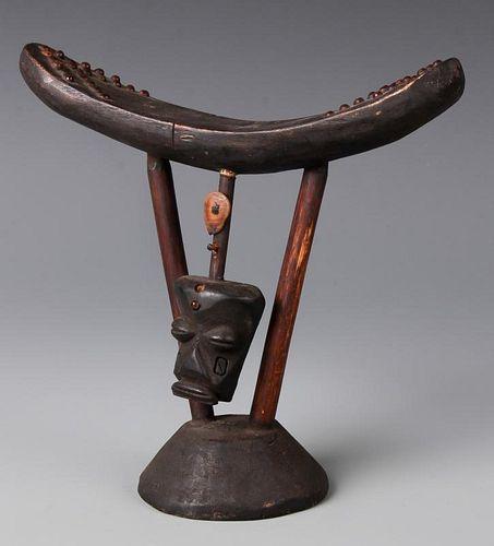 Figural African Headrest