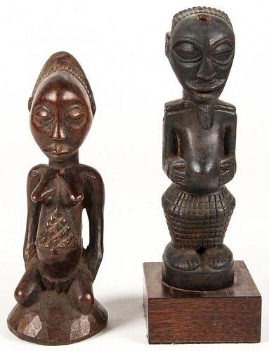 2 Hemba Luba Figures
