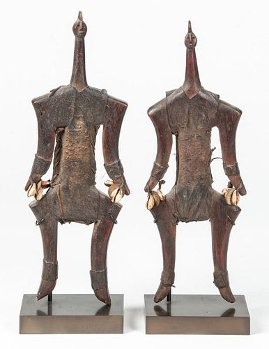 Pair Male Namji Guardian Dolls