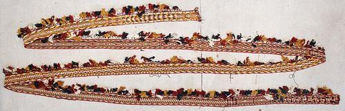 Antique Central Asian Tent Band: 48'3'' x 5'' (1471 x 13 cm)
