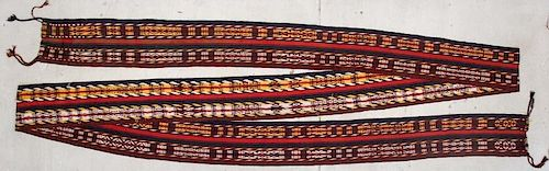 Antique Central Asian Tent Band: 41'7'' x 1'2'' (1267 x 36 cm)
