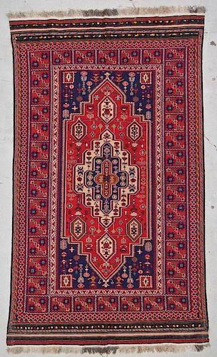 Vintage Sumak Rug: 5'3'' x 8'9'' (160 x 267 cm)