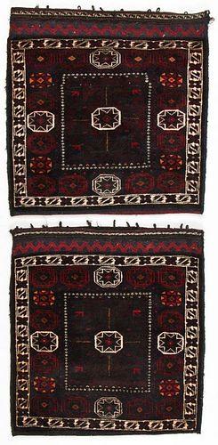 Pair of Vintage Beluch Rugs/Bagfaces, Afghanistan
