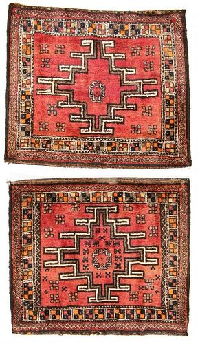 2 Vintage Central Asian Rugs, Afghanistan