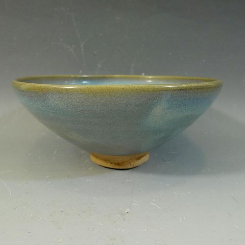 ANTIQUE CHINESE JUN WARE BOWL - YUAN/MING DYNASTY