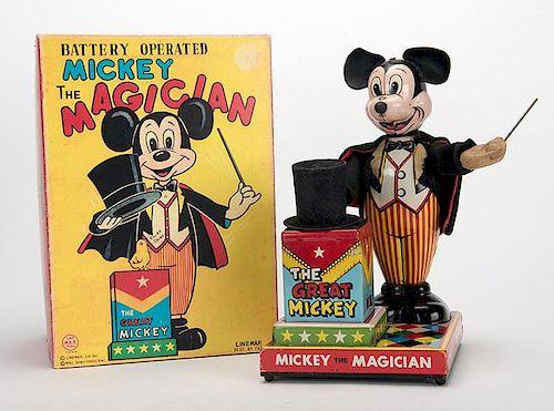 Mickey the Magician