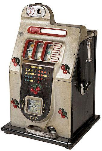 Five Cent Mills Cherry Front Slot Machine