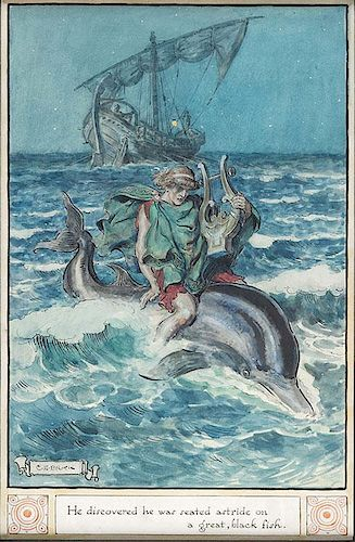 """–The Myth of Arion and the Dolphin"""""""