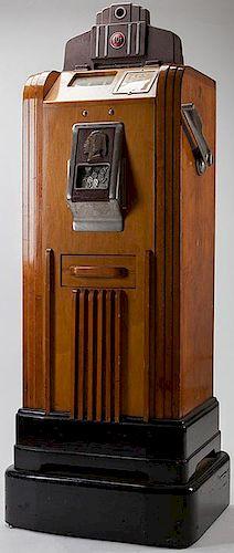 Ten Cent O.D. Jenning's ñBronze Chiefî Console Slot Machine