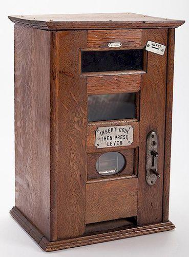 Five Cent Mack Cigar Vending Machine