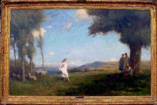 George F. Wetherbee (1851-1920) American Impressionist
