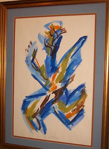 Ely Bielutin Russian Abstract Painting