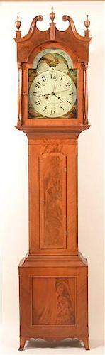 Joseph Taylor, York, PA No. 105 Tall Case Clock.