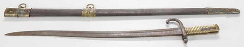 Two Bayonets, Scabbord